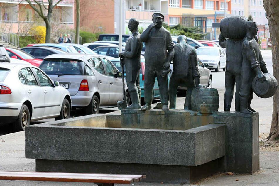 """Das Ensemble """"Marktweiber-, Tuchmacker und Bierbrauerbrunnen"""" wird für 300.000 Euro saniert."""
