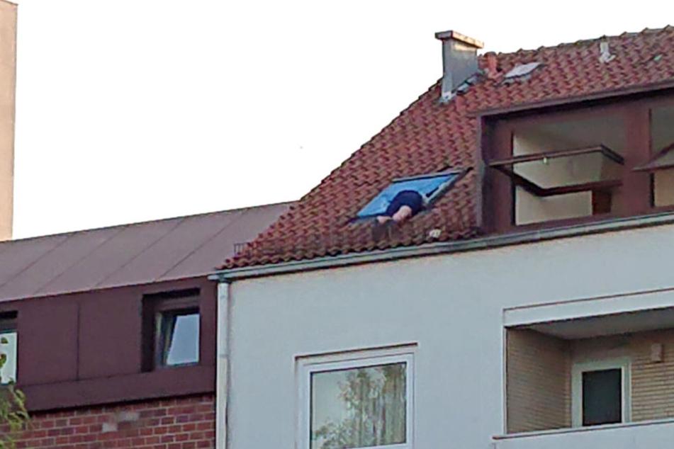 Nach seiner Kletteraktion kam der Mann ins Gefängnis.