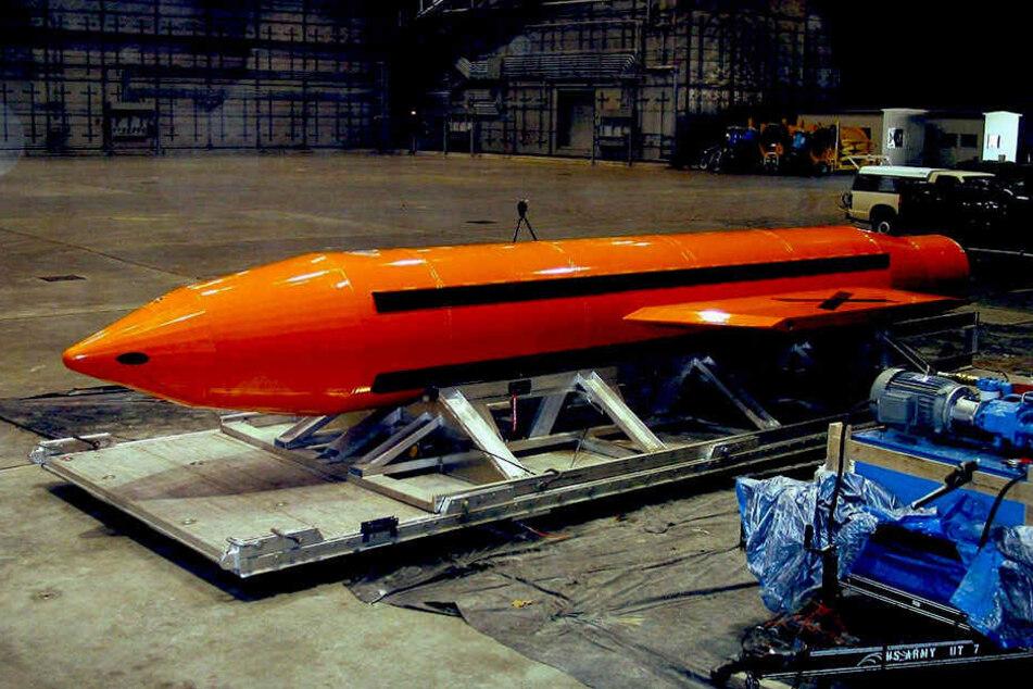 """Die sogenannte """"MOAB"""" ist die stärkste nicht-atomare Bombe, die die USA besitzen."""