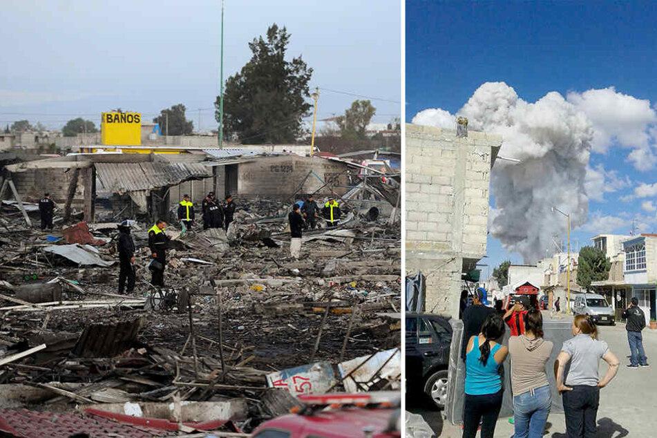 Mindestens 29 Menschen sind dabei ums Leben gekommen, etwa 70 wurden verletzt.