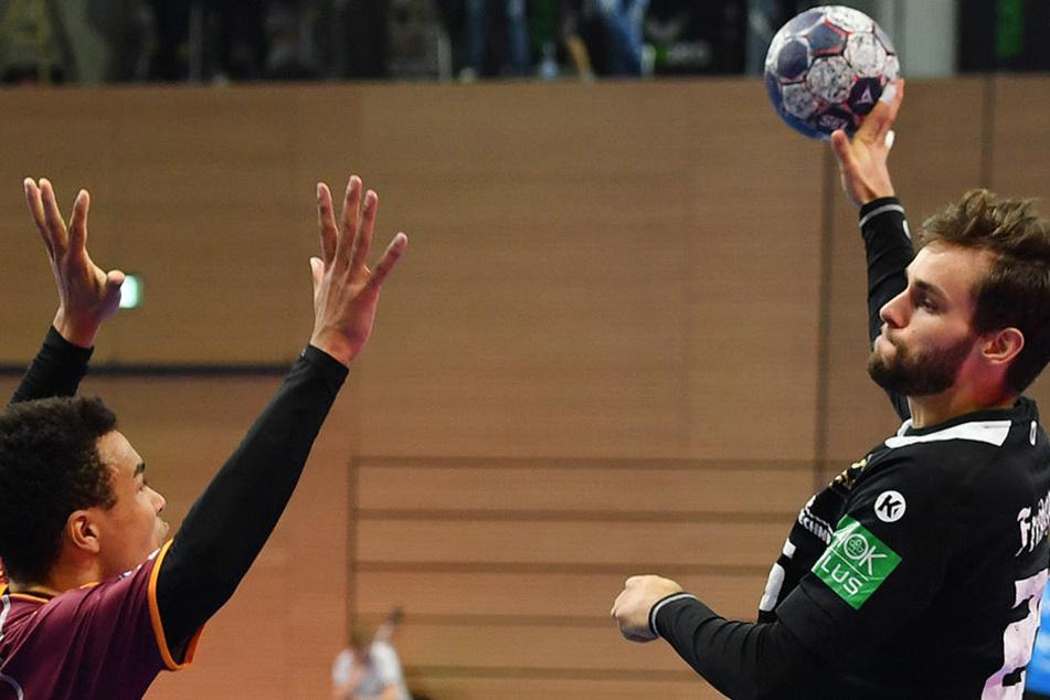 Erfolgreiches Comeback: Sebastian Greß kam, traf und siegte mit seinem HC Elbflorenz.