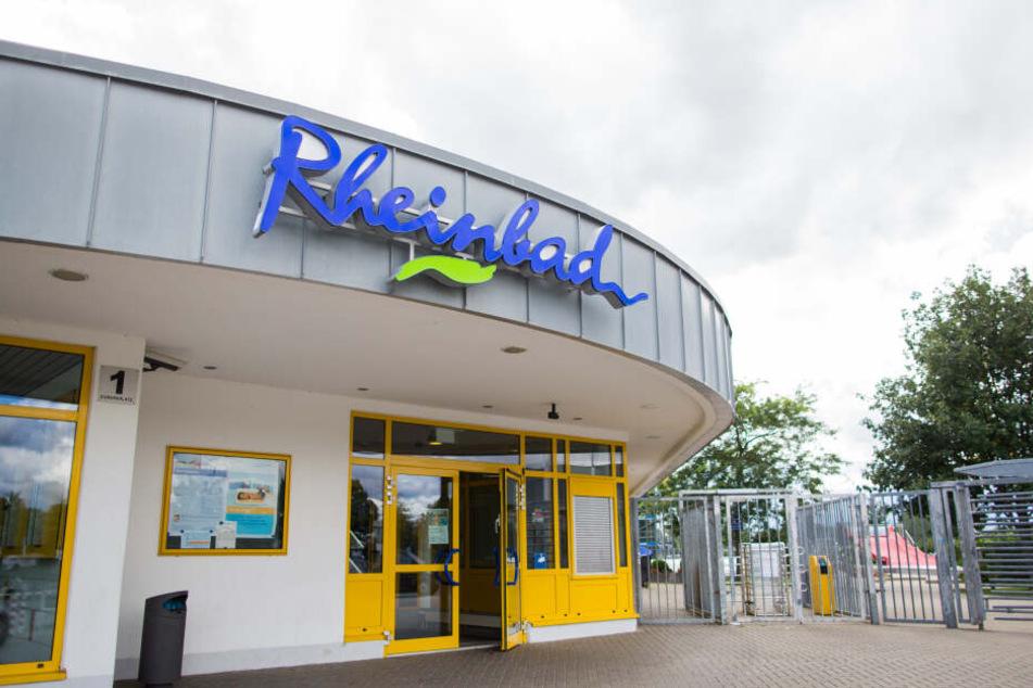 Das Rheinbad in Düsseldorf.