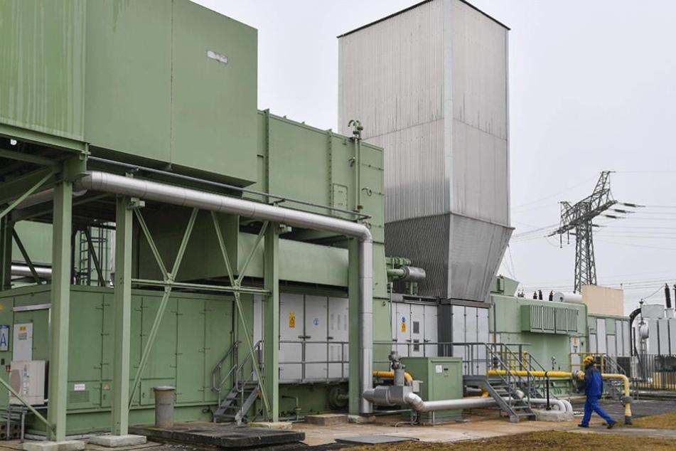 Das Gasturbinenkraftwerk in Thyrow (Brandenburg) soll im Notall für die Wiederherstellung des Stromnetzes sorgen.