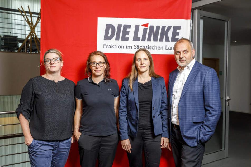 Alles dachten, Sachsen Linke erneuert sich. Und dann das...