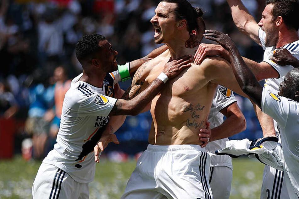 """Ibrahimovic """"bereit"""" für Man United! Kommt es zum großen Zlatan-Comeback?"""