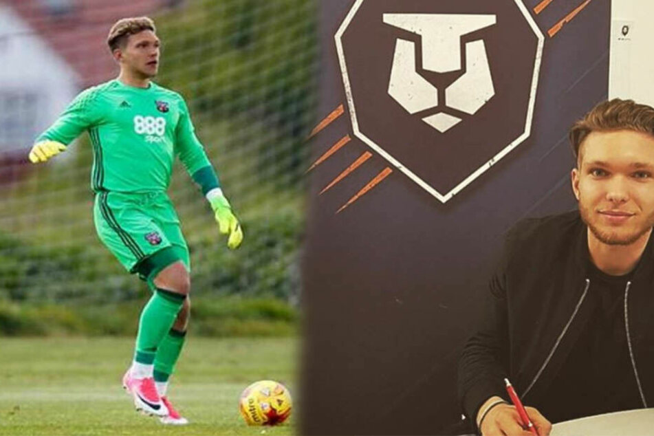 Torhüter Dimitrios Kyriatzis spielte zuletzt für den englischen Zweitligisten Brentford FC.