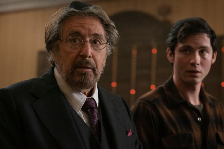 Meyer Offerman (Al Pacino, l.) und Jonah Heidelbaum (Logan Lerman) verbindet mehr, als man anfangs denkt.