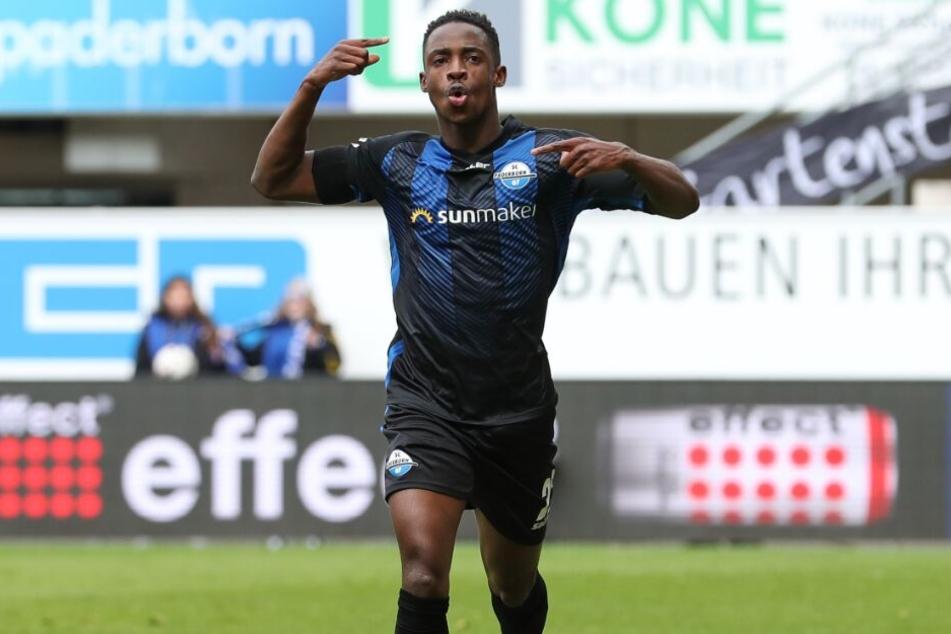 Christopher Antwi-Adjej möchte auch gegen Dynamo Dresden treffen.