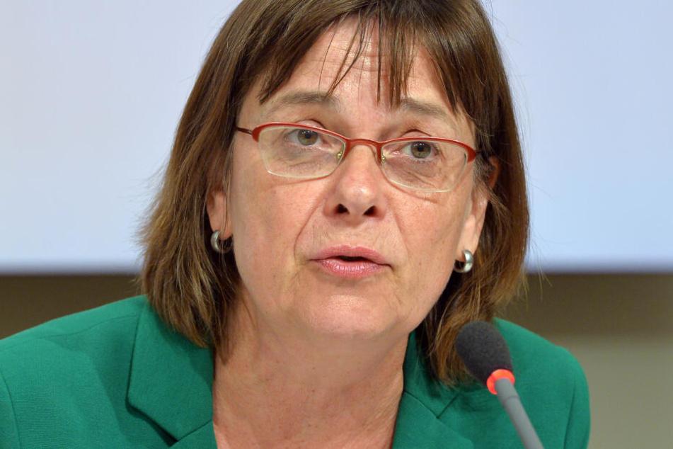 Grünen-Spitzenkandidatin Ursula Nonnemacher lobt die Zusammenarbeit mit der CDU.
