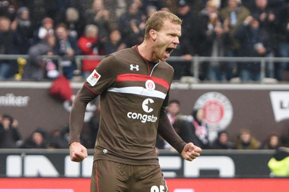 Henk Veerman wird diese Saison vermutlich nicht mehr für den FC St. Pauli spielen können.