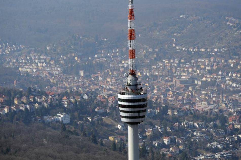 Beliebtes Ausflugsziel in Stuttgart: der Fernsehturm.