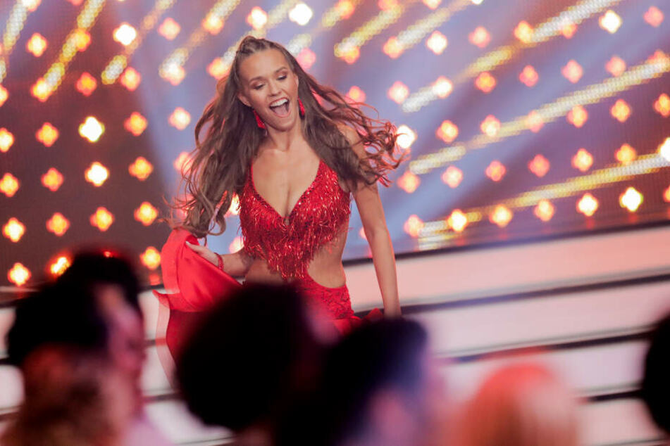 Laura Müller tanzt derzeit bei Let's Dance.