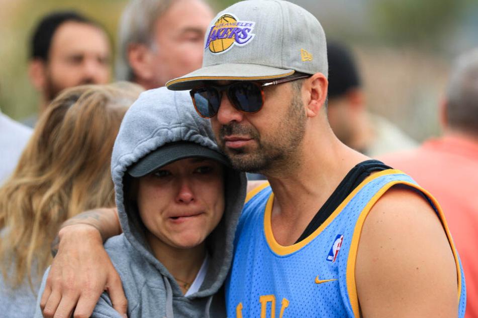 Nicht nur in LA trauern die Menschen um eine Legende.