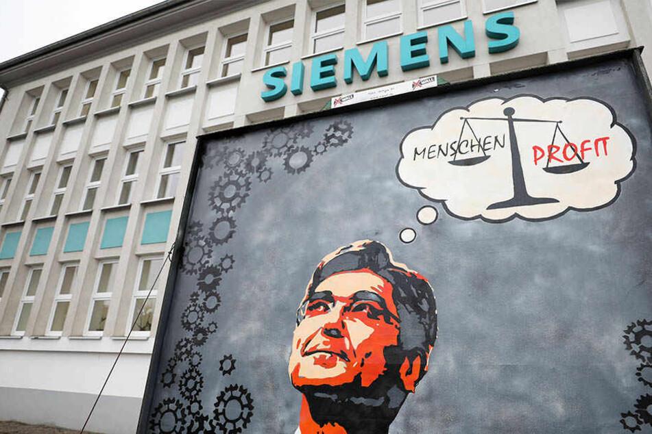 Das Leipziger Siemens-Werk steht vor dem Aus. Doch es gibt heftigen Widerstand gegen die Schließungspläne.