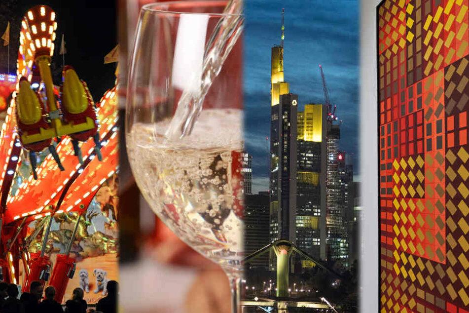 Weinprobe, Skyline-X-mas, Op-Art oder pures Jahrmarkt-Feeling: Der Sonntag wird groß!