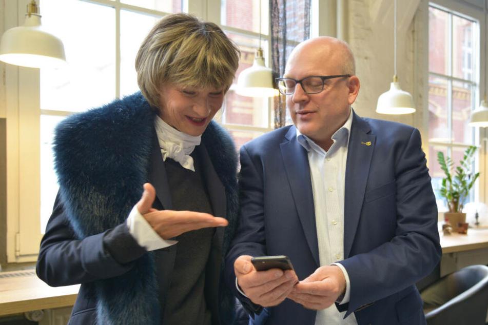 Kämmerer Sven Schulze (48) will Nachfolger von OB Barbara Ludwig werden.