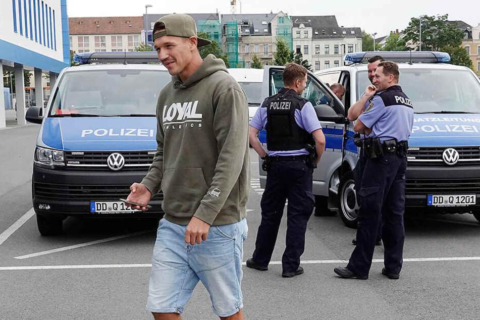 Am 5. August trennte man sich beim Chemnitzer FC von Torjäger Daniel Frahn.