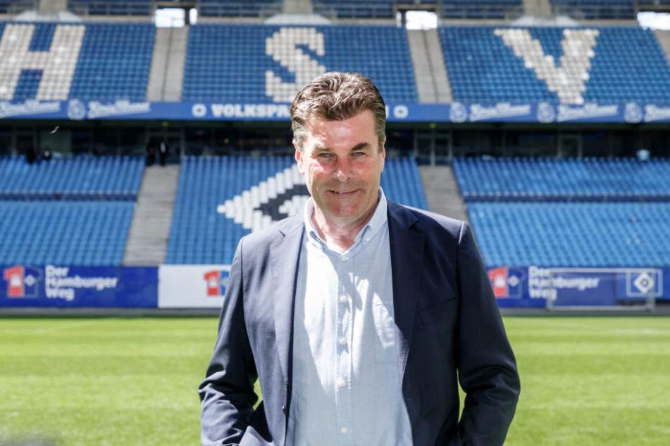 Dieter Hecking ist neuer HSV-Trainer.