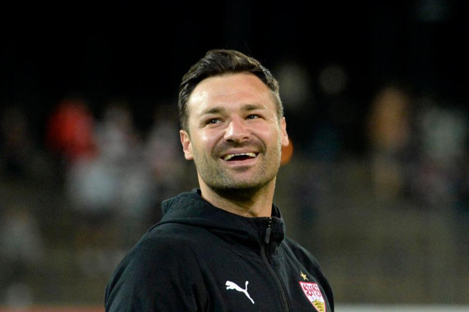 Übernahm die U19-Mannschaft des VfB Stuttgart von Nico Willig: Trainer Daniel Teufel.