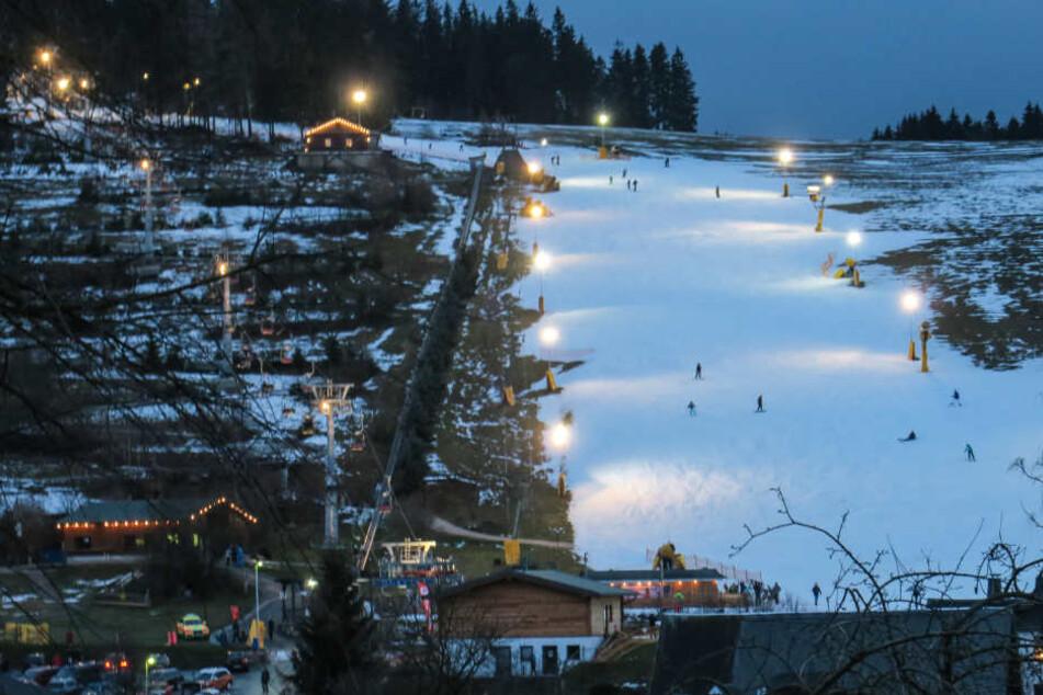 Der Unfall passierte an einem Lift in der Skiarena Eibenstock.