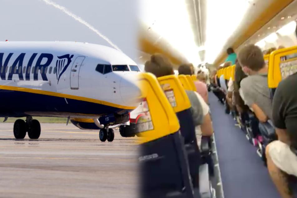 Zwei Passagiere müssen Flugzeug sofort verlassen, nachdem einer eine SMS erhält