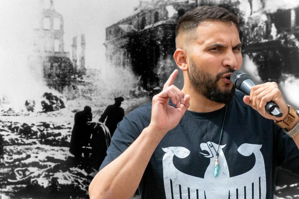 Attilda Hildmann vergleicht Corona-Impfung mit Bombardierung Dresdens