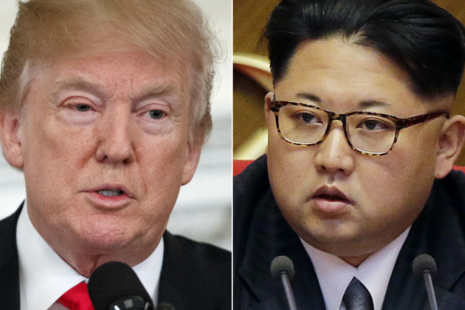 US-Präsident Donald Trump (links) und Nordkoreas Machthaber Kim Jong Un.
