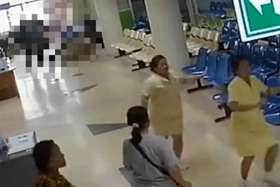 Im Nakhon Pathom Krankenhaus in Thailand kam es zu dem schrecklichen Familiendrama.