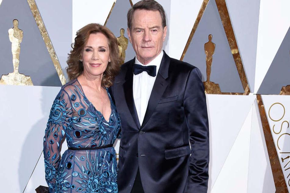 Bryan Cranston (61) und Ehefrau Robin Dearden (63) wurden beim Sex im Zug erwischt.
