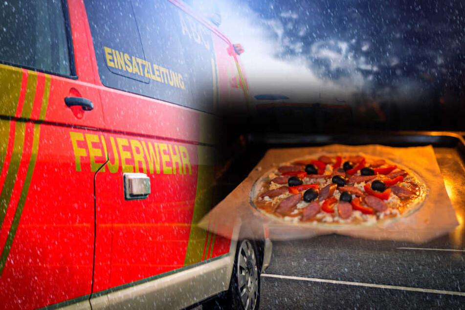 Frau schiebt Pizza in den Ofen und löst Feuerwehreinsatz aus