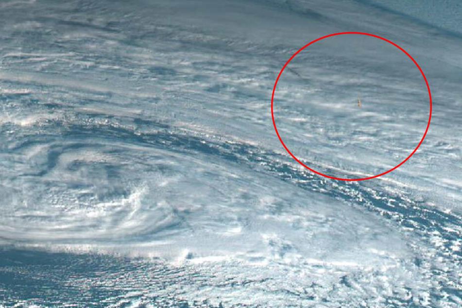 Was auf diesen Satellitenbildern zu sehen ist, könnte die Menschheit beunruhigen