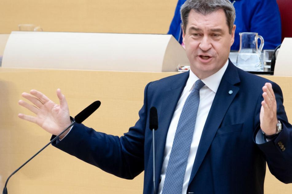 Ministerpräsident Markus Söder will Kritikern den Wind aus den Segeln nehmen.