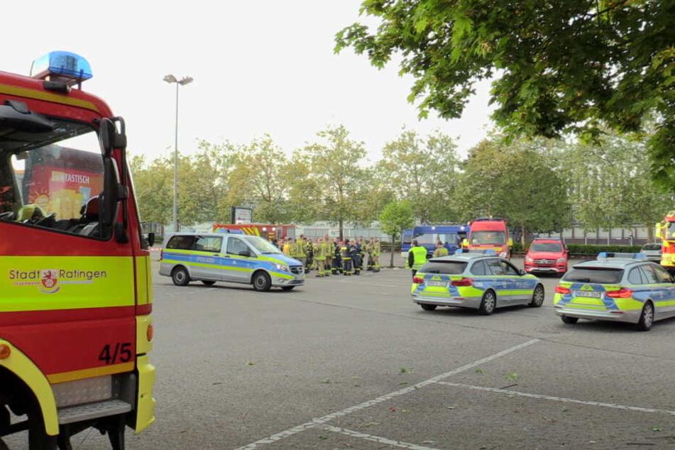 An der Suche waren Feuerwehr, Polizei und THW beteiligt.