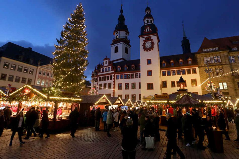 Der Chemnitzer Weihnachtsmarkt bewirbt sich diesmal nicht um den Titel.