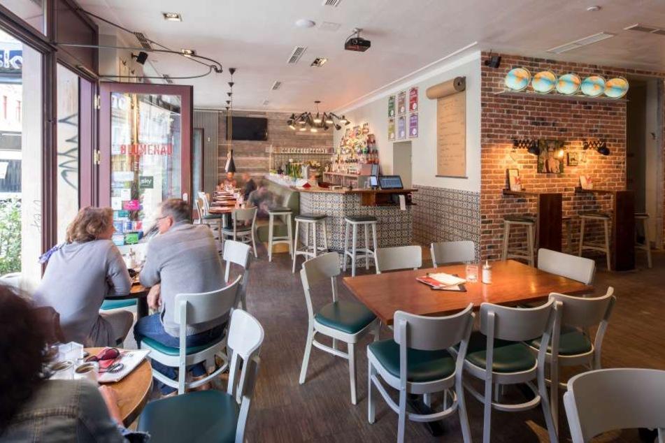 Das Café wurde frisch renoviert.