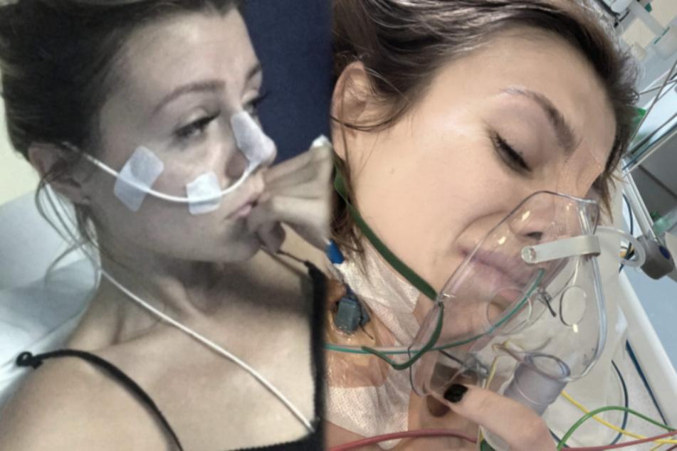 """Junge Mutter kämpft seit Jahren mit Krankheit: """"War schon vier Mal klinisch tot"""""""
