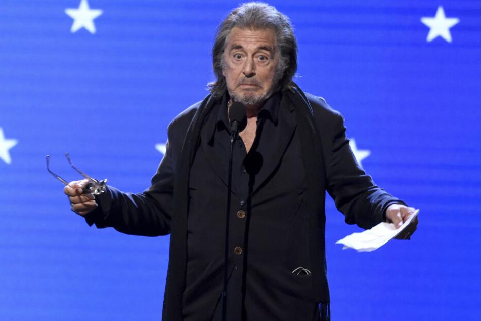 """Al Pacino (79) spielt die Hauptrolle in der neuen Amazon-Serie """"Hunters""""."""