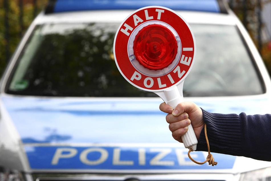 In Bernsdorf wurde eine Frau mit 3,5 Promille hinterm Steuer erwischt.