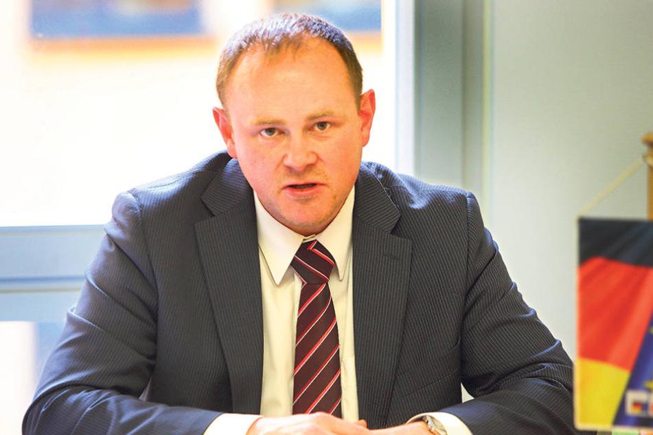Gunter Thiele (43, CDU) spricht sich für eine Bebauung der Cockerwiese aus, aber  gegen Hochhäuser.