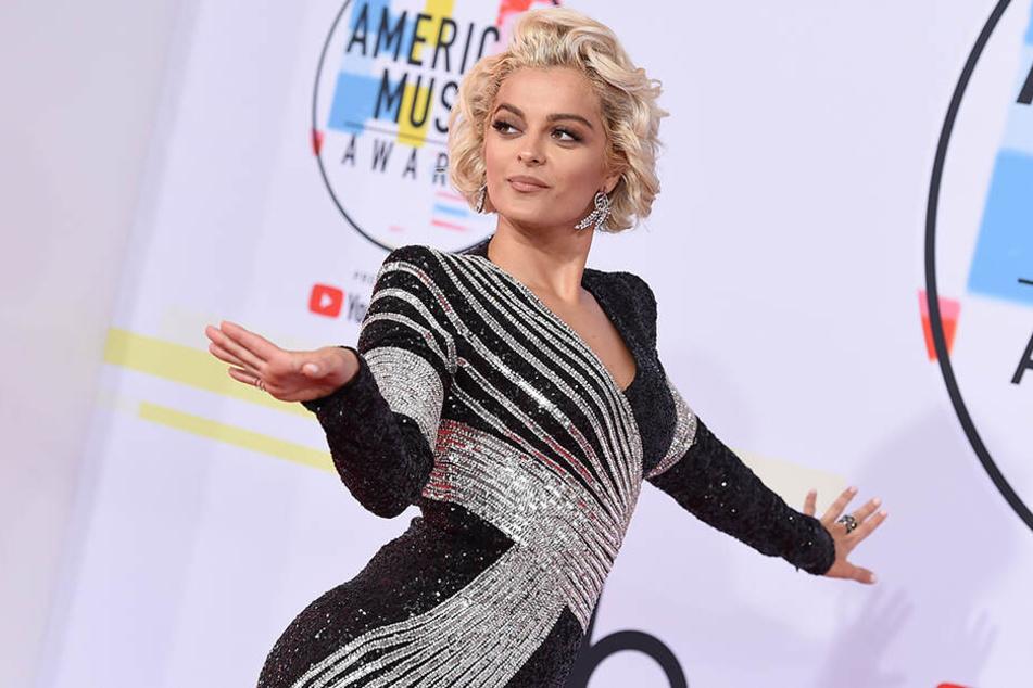Bebe Rexha bei der Verleihung der American Music Awards im Oktober 2018 in Los Angeles.