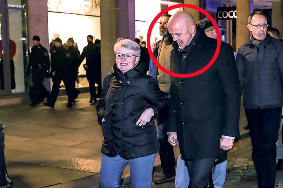 AfD-Landtags-Vizepräsident läuft bei Pegida mit! Wirbel um André Wendt
