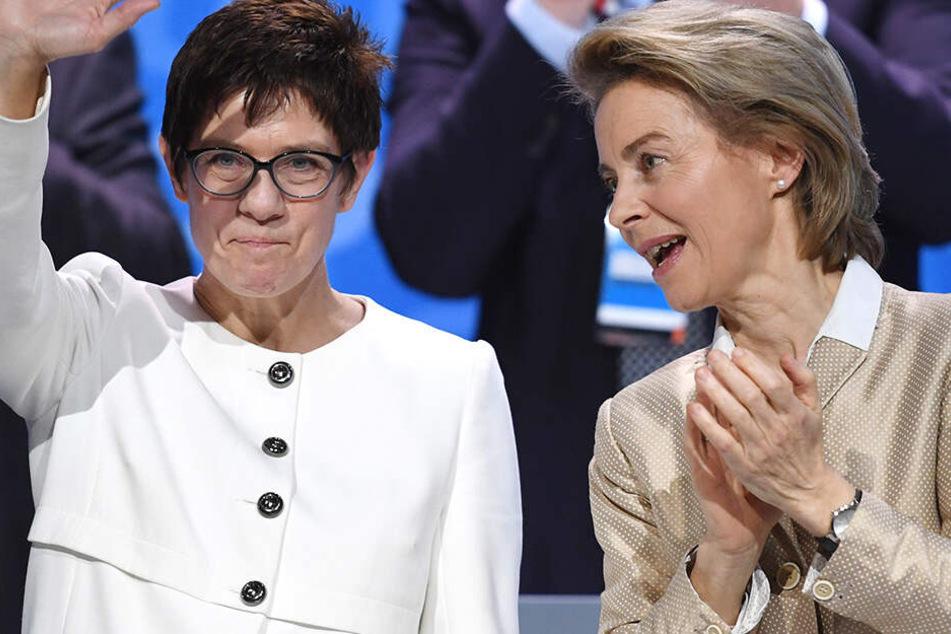Nach Politik-Hammer: Heute wird AKK neue Verteidigungsministerin