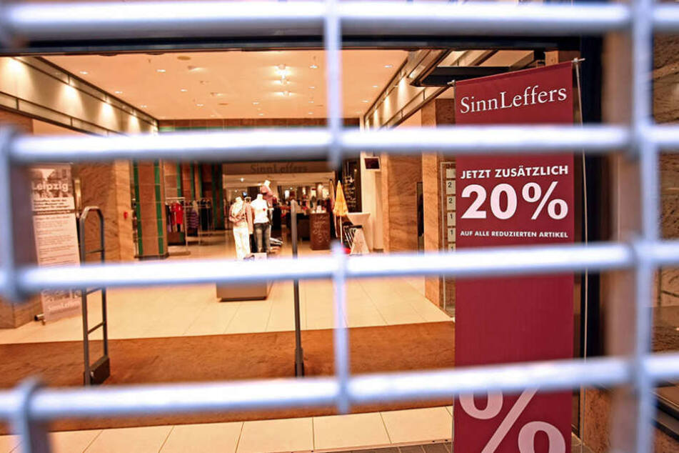 SinnLeffers wird wohl auch in Jena nur zum Ladenschluss schließen.