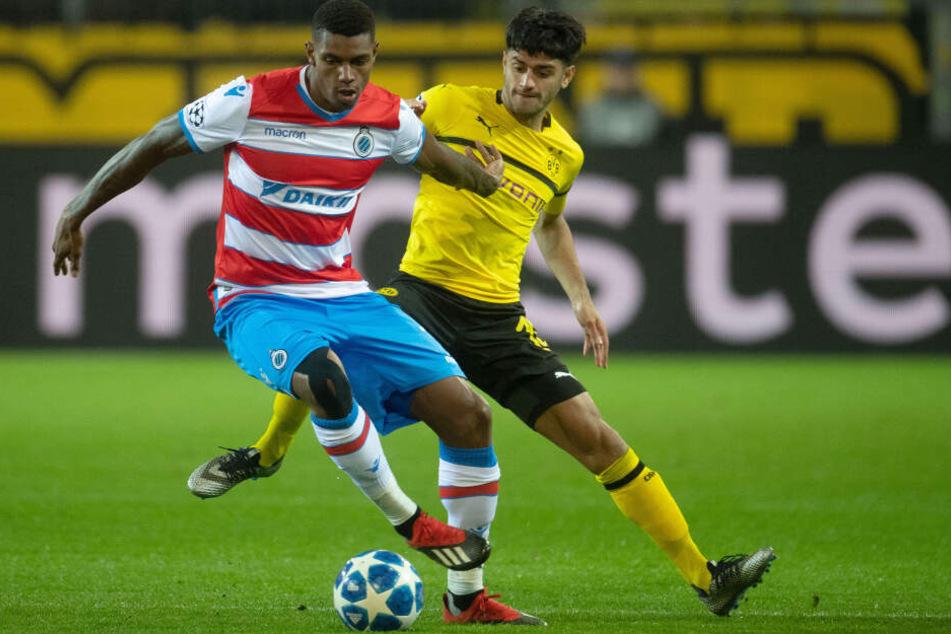 Wesley (22, l.) vom FC Brügge ist eines der begehrtesten Talente in Europa. Schnappt ihn sich RB Leipzig?