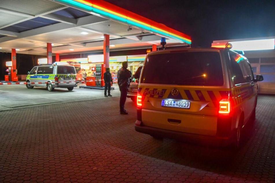 Am Dienstagabend kam es zu einem Überfall auf eine Tankstelle in Magdeburg.