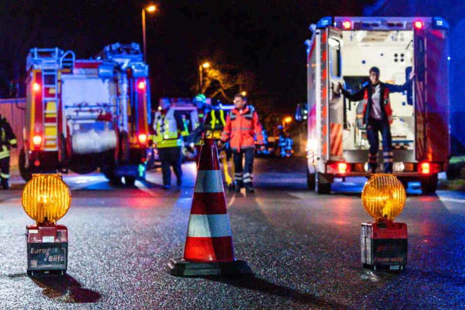 Vier Menschen wurden bei dem Brand in Hattersheim-Okriftel verletzt.