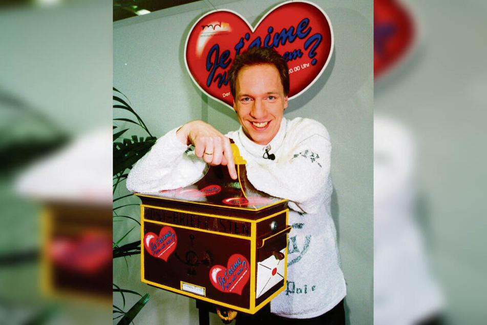 """Frank Liehr verkuppelte von 1990 bis 2001 Singles in der Samstagssendung """"Je t'aime - wer mit wem?""""."""