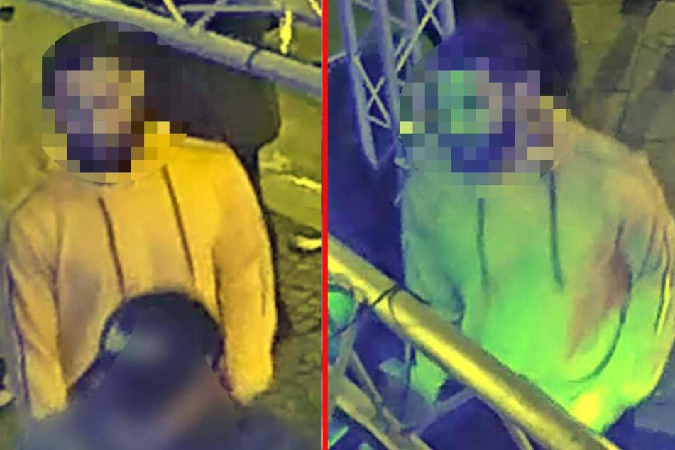 Das Bild zeigte den zweiten Tatverdächtigen.