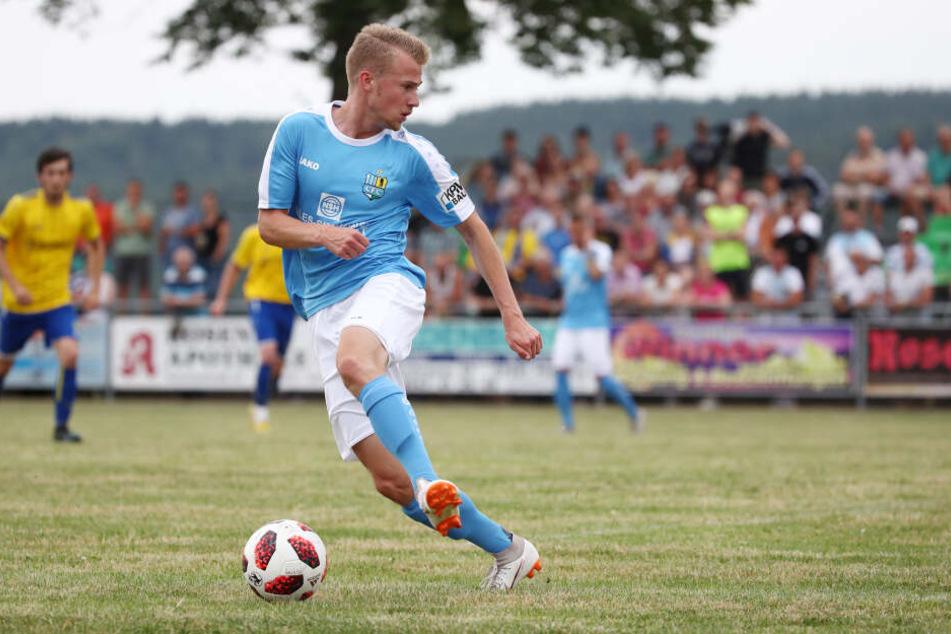 Jakob Gesien war im Sommer 2018 von Hansa Rostock II nach Chemnitz gewechselt, jetzt ist er auf Vereinssuche.
