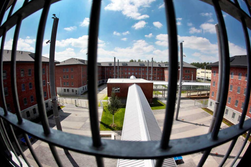 Ein Blick aus dem Gefängnis in Wuppertal.
